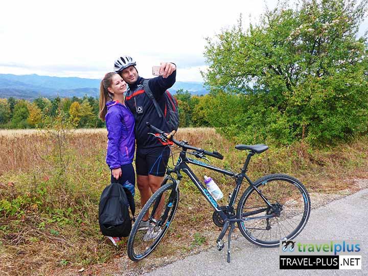 Приключение с велосипед и пеша