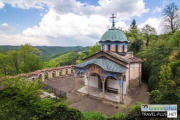Пешеходен преход - Соколски манастир