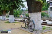 Ретро велосипед в Трявна